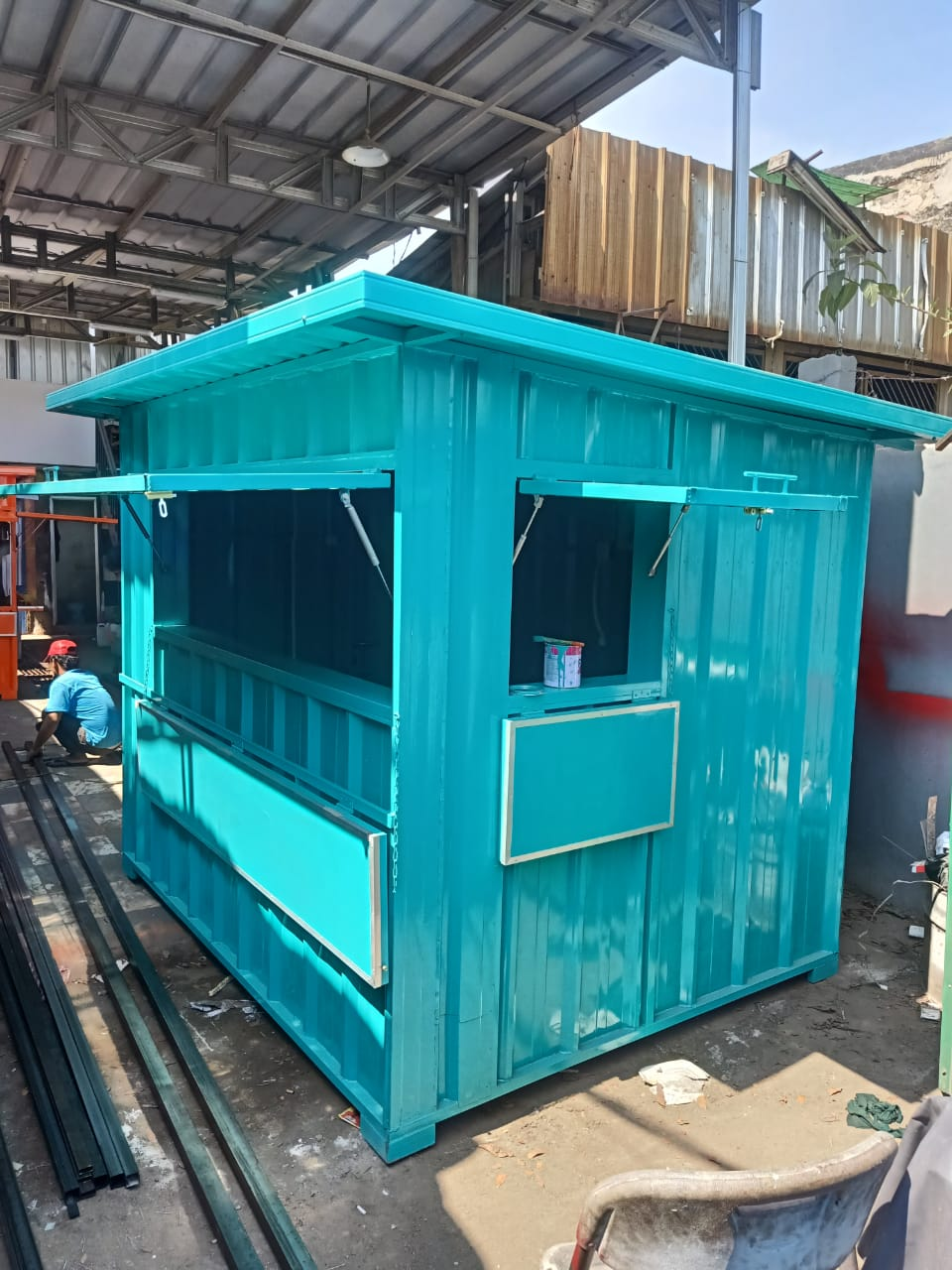 Jual Booth Container Murah (9)
